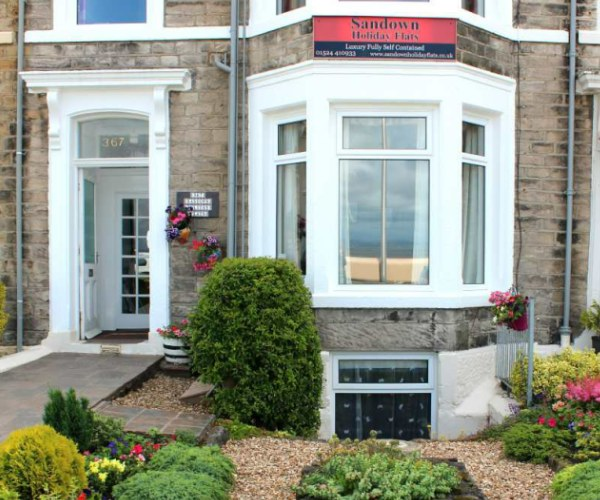Welcome to Sandown Holiday Flats self catering in Morecambe