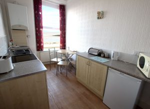 Sandown Holiday Flats Morecambe Holiday Flat 1- Kitchen