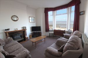 Sandown Holiday Flats Morecambe Holiday Flat 1- Living Room