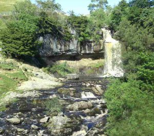 Ingleton Waterfalls in Yorkshire