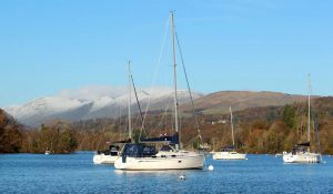 Bowness Windermere Boats in Lake District