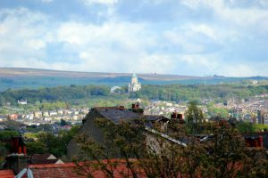 Overlooking Lancaster onto Williamson Park
