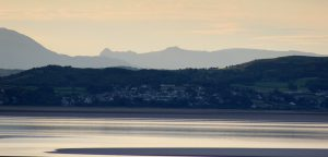 Morecambe Bay- Grange-Over-Sands - Lake District Hills