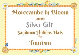 Morecambe in Bloom 2016 Silver Gilt for Tourism