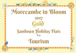 Morecambe in Bloom 2017 Gold for Tourism