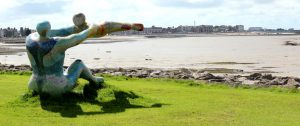 Sandown Holiday Flats- Morecambe- Venus & Cupid Statue