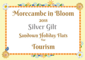 Morecambe in Bloom 2018 Silver Gilt for Tourism